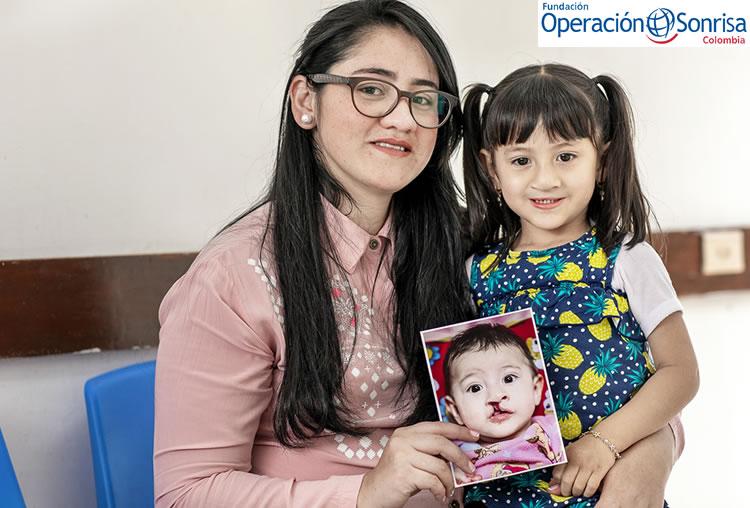 Luciana ahora tiene 8 años y es una niña sana y feliz.