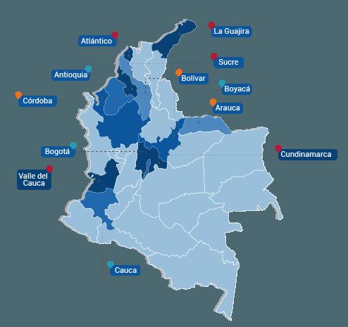 mapa colombia 1
