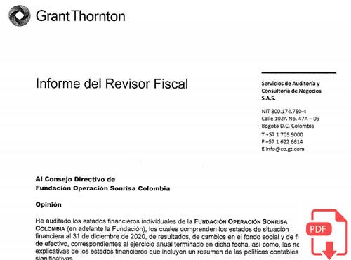 certificacion revisor fiscal 2021